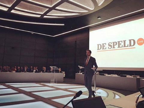 BuZa / IOB Lustrumsymposium – presentator De Speld LIVE